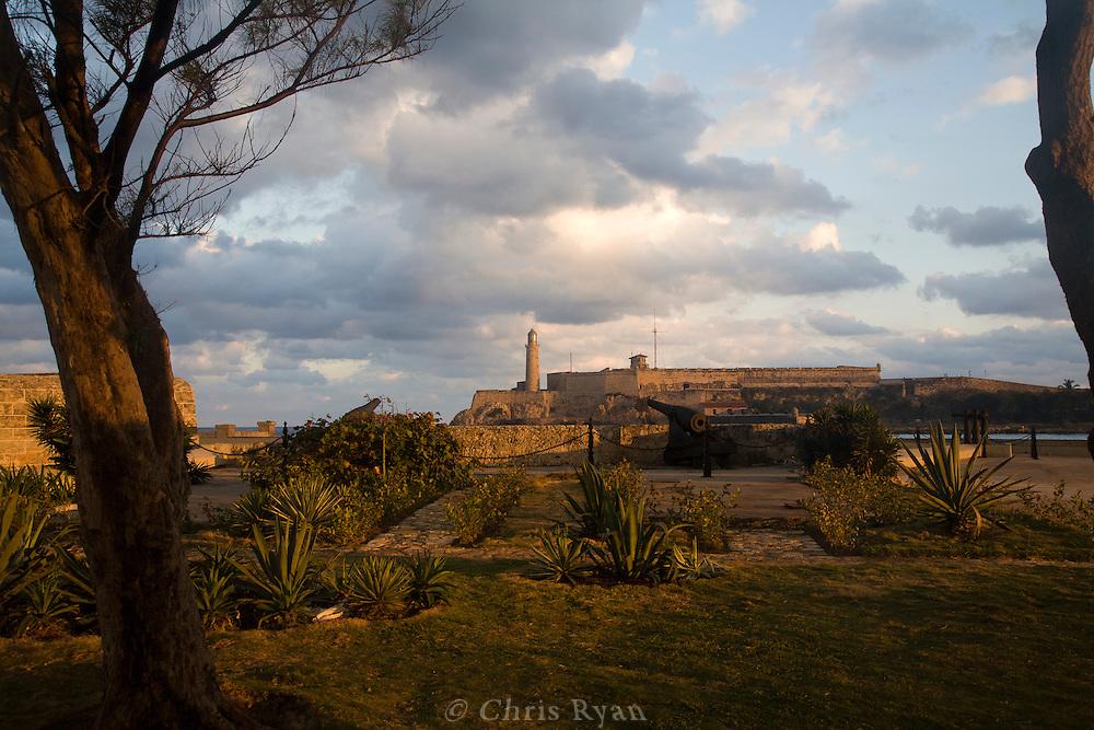Castillo de San Salvador de la Punta and lighthouse, Havana, Cuba
