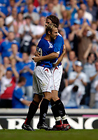 Photo: Jed Wee.<br />Glasgow Rangers v Middlesbrough. Pre Season Friendly. 22/07/2006.<br /><br />Rangers' Thomas Buffel (L) celebrates with Karl Svensson after scoring.