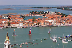 Above Venice and the Canal Grande