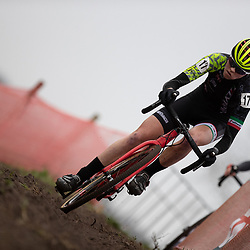 12-01-2020: Wielrennen: NK Veldrijden: Rucphen<br />Fem van Empel, Ilse Pluimers