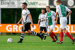 Ronald Wielinga of VV Maarssen in action. Friendly match against EDO and Maarssen lost the home match with 3-0 on 20 August 2020 in Maarssen.