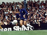 Alan Hudson (Chelsea). 26/8/70, Chelsea v Everton. Credit: Colorsport.