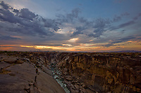 Augrabies Falls at Sunset, South Africa