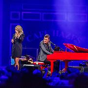 NLD/Amsterdam/20200306 - Holland Zingt Hazes 2020, Miss Montreal en Jeroen van der Boom