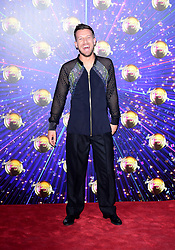 Chris Ramsey arriving at the red carpet launch of Strictly Come Dancing 2019, held at BBC TV Centre in London, UK.