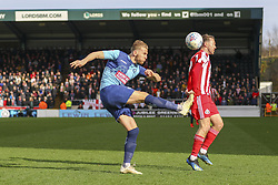 March 9, 2019 - High Wycombe, Buckinghamshire, United Kingdom - Wycombe's Jason McCarthy clears a Sunderland attack during the Sky Bet League 1 match between Wycombe Wanderers and Sunderland at Adams Park, High Wycombe, England  on Saturday 9th March 2019. (Credit Image: © Mi News/NurPhoto via ZUMA Press)
