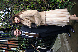 INDIA-JANE BIRLEY and guest at the wedding of Lucy Ferry to Robin Birley held at Ormsby Lodge, Ham Gate Avenue, Ham, Surrey on 26th October 2006.<br /><br />NON EXCLUSIVE - WORLD RIGHTS