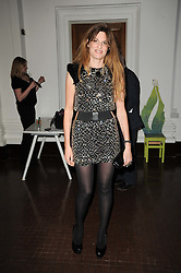 JEMIMA KHAN at an exhibition and charity auction entitled Shoebox Art in aid of Kids Company held at the Haunch of Venison, Burlington Gardens, London on 18th March 2010.