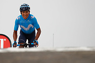 Nairo Quintana (COL - Movistar) winner during the 105th Tour de France 2018, Stage 17, Bagneres de Luchon - Col du Portet (65 km) on July 25th, 2018 - Photo Luca Bettini / BettiniPhoto / ProSportsImages / DPPI