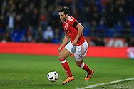 Adam Matthews of Wales in action. Wales v Northern Ireland, International football friendly match at the Cardiff City Stadium in Cardiff, South Wales on Thursday 24th March 2016. The teams are preparing for this summer's Euro 2016 tournament.     pic by  Andrew Orchard, Andrew Orchard sports photography.
