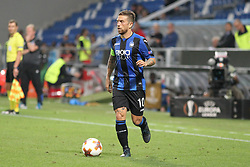 September 14, 2017 - Reggio Emilia, Emilia Romagna, Italy - Alejandro Gomez  (Atalanta Bergamasca Calcio) in action during the first match of Group E of the UEFA Europa League between Atalanta Bergamasca Calcio and FC Everton at Mapei Stadium-Citt del Tricolore on 12 September, 2017 in Reggio Emilia, Italy. ..Atalanta won 3-0 over Everton. (Credit Image: © Massimiliano Ferraro/NurPhoto via ZUMA Press)
