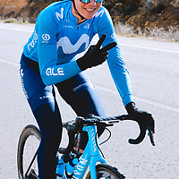 Aude Biannic. 2021 Movistar Team Training Camp, Almería. 10.1.2021.