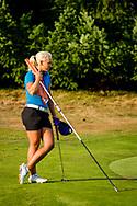 01-09-2016 Golffoto's van het Nationaal Open op de Hilversumsche Golf Club in Hilversum. Finale.  Romy Meekers