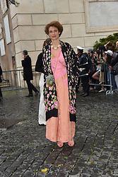 Rome, Piazza Del Campidoglio Event Gucci Parade at the Capitoline Museums, In the picture: Ginevra Elkann