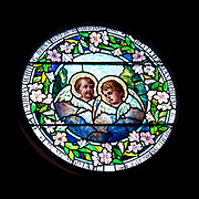 Window 1 on plan.<br /> <br /> Church of Our Father, Hulls Cove.