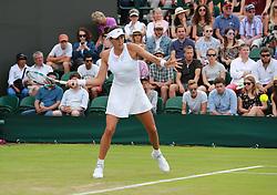 July 4, 2017 - Wimbledon, England, Angleterre - Muguruza (Credit Image: © Panoramic via ZUMA Press)