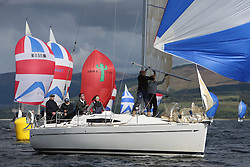 Peelport Clydeport, Largs Regatta Week 2014 Largs Sailing Club based at  Largs Yacht Haven with support from the Scottish Sailing Institute & Cumbrae.<br /> <br /> 3401C, Rogue Trader, James Cumming, FYC, Elan 340