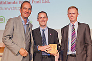 Kevin McCloud with Ewan Bent and Mark Appleton, Midlands Wood Fuel