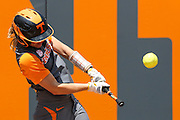 KNOXVILLE,TN - MAY 22, 2016 - Infielder/Outifleder Megan Geer #14 during the NCAA Softball Regional between the Ohio State Buckeyes and the Tennessee Volunteers at Sherri Parker Lee Stadium in Knoxville, TN. Photo By Craig Bisacre/Tennessee Athletics Photo By Craig Bisacre/Tennessee Athletics