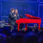 NLD/Amsterdam/20200306 - Holland Zingt Hazes 2020, Jeroen van der Boom en Peter Beense