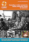 2013 06 03 Tearsheet CARE poster emergencies Niger