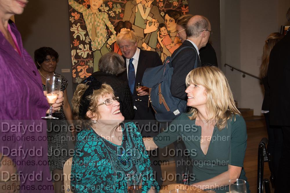 CHARLOTTE JOHNSON WAHL; RACHEL JOHNSON, Exhibition opening of paintings by Charlotte Johnson Wahl. Mall Galleries. London, 7 September 2015.