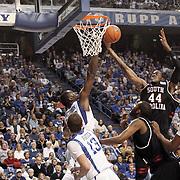 South Carolina Gamecocks men's basketball vs. Kentucky at Rupp Arena. ©Travis Bell Photography