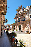 Baroque church of St John's Sicili, Sicily
