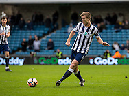Tony Craig of Millwall during the FA Cup match at The Den, London<br /> Picture by Liam McAvoy/Focus Images Ltd 07413 543156<br /> 29/01/2017