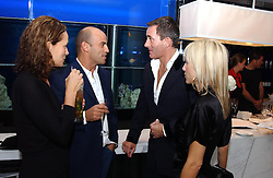Left to right, GUY & ANDREA DELLAL and TIM JEFFERIES and PRINCESS ALEXANDRA VON FURSTENBURG at a dinner hosted by Cartier to celebrate the opening of the 2004 Frieze Art Fair, held at Yauacha 15-17 Broadwick Street, London W1 on 13th October 2004.<br /><br />NON EXCLUSIVE - WORLD RIGHTS
