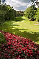 HERKENBOSCH- Hole 6, Golfbaan Herkenbosch bij Roermond. FOTO KOEN SUYK