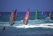 Windsurfers, Hawaii<br />