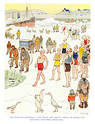 The Spartan Swimming Club Visits the Arctic Circle in Search of Suitable Weather Conditions.