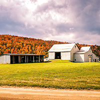 A bucolic autumn landscape in Vermont.  All Content is Copyright of Kathie Fife Photography. Downloading, copying and using images without permission is a violation of Copyright.