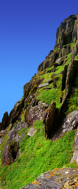 Skellig Michael Panorama, County Kerry, Ireland / sk019 I love the Skelligs, ****** <br /> <br /> Visit & browse through my Photography & Art Gallery, located on the Wild Atlantic Way & Skellig Ring between Waterville and Ballinskelligs (Skellig Coast R567), only 3 minutes from the main Ring of Kerry road.<br /> https://goo.gl/maps/syg6bd3KQtw<br /> <br /> ******<br /> <br /> Contact: 085 7803273 from an Irish mobile phone or +353 85 7803273 from an international mobile phone