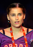 Nelly Furtado at the NBA All-Star Game on Sunday, Feb. 15, 2004 in Los Angeles.