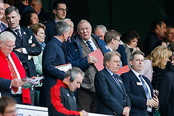 Bristol Rugby chairman Chris Booy takes his seat in the Royal Box - Mandatory byline: Rogan Thomson/JMP - 12/03/2016 - RUGBY UNION - Twickenham Stadium - London, England - England v Wales - RBS 6 Nations 2016.