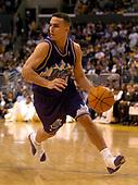 NBA-Utah Jazz at Los Angeles Lakers-Mar 28, 2004