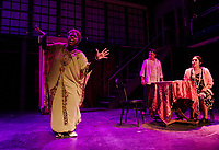 Ghost the Musical with Winnipesaukee Playhouse.  Karen Bobotas for the Laconia Daily Sun