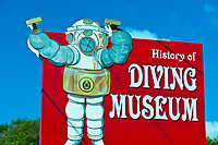 Florida Keys History of Diving Museum, Islamorada Key, Florida Keys, Florida USA