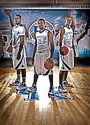 UK Wildcats Patrick Patterson, (Houston Rockets, John Wall, (Washington Wizards), and Darius Miller ( Charlotte Hornets) photo by Mark Cornelison