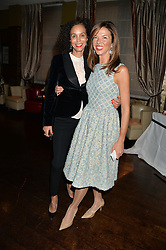 Left to right, JEANETTE CALLIVA and HEATHER KERZNER at a party to launch Madderson London Women's Wear held at Beaufort House, 354 Kings Road, London on 23rd January 2014.