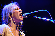 WASHINGTON, D.C. - January 29th, 2011: Singer-songwriter Lissie performs at the the 9:30 Club. Her debut album, Catching A Tiger, was released in late 2010. (Photo by Kyle Gustafson/For The Washington Post)