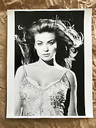 Carmen Electra photographed in Los Angeles circa 1990s. 14 x 11 inches fibre based baryta paper. Original print production proof.