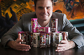 Chris Pouy of Cow Wow Cereal Milk company