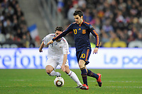 Fotball<br /> Frankrike v Spania<br /> Foto: DPPI/Digitalsport<br /> NORWAY ONLY<br /> <br /> FOOTBALL - FRIENDLY GAME 2010 - FRANCE v SPAIN - 03/03/2010<br /> <br /> CESC FABREGAS (SPA)