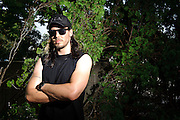 Andrew W.K. photographed backstage on Warped Tour at Nassau Coliseum, NYC. July 17, 2010. Copyright © 2010 Matt Eisman. All Rights Reserved.