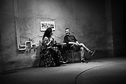 Katrina Lenk & David Cromer/Director: The Band's Visit - Behind the scenes and Production photos from the original Atlantic Theater Company Off Broadway production