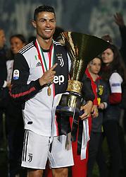 May 19, 2019 - Turin, ITA, Italy - Cristiano Ronaldo during Serie A match between Juventus v Atalanta, in Turin, on May 19, 2019  (Credit Image: © Loris Roselli/NurPhoto via ZUMA Press)