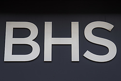 Oxford Street, London, June 2nd 2016. British retailer BHS goes into liquidation putting 11,000 jobs at risk, and potential pension losses as administrators fail to find a buyer for the beleaguered chain.